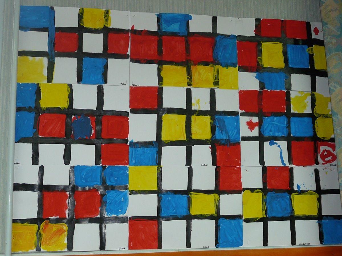 Kusama et Mondrian chez Marie-Pierre