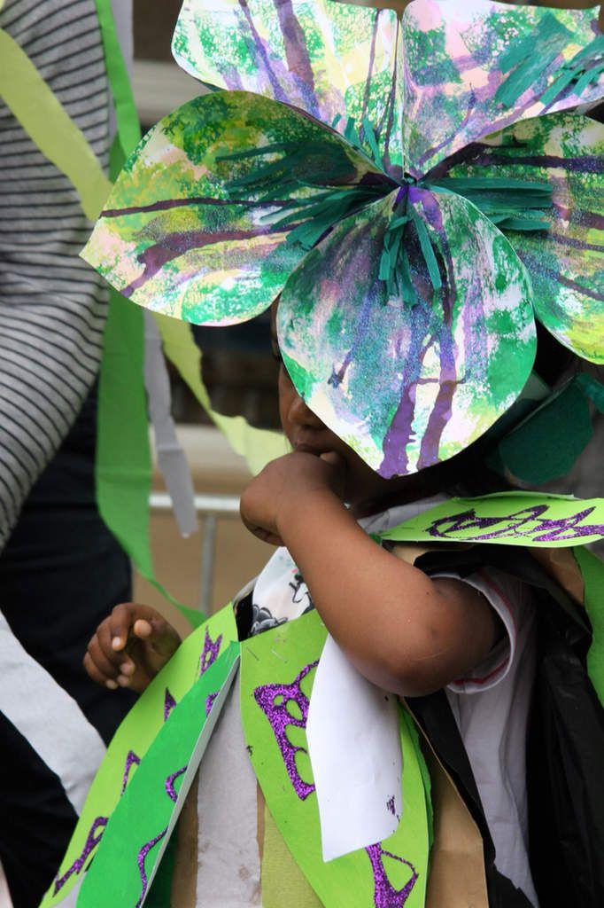 Carnaval Thème Le jardin chez Valérie L