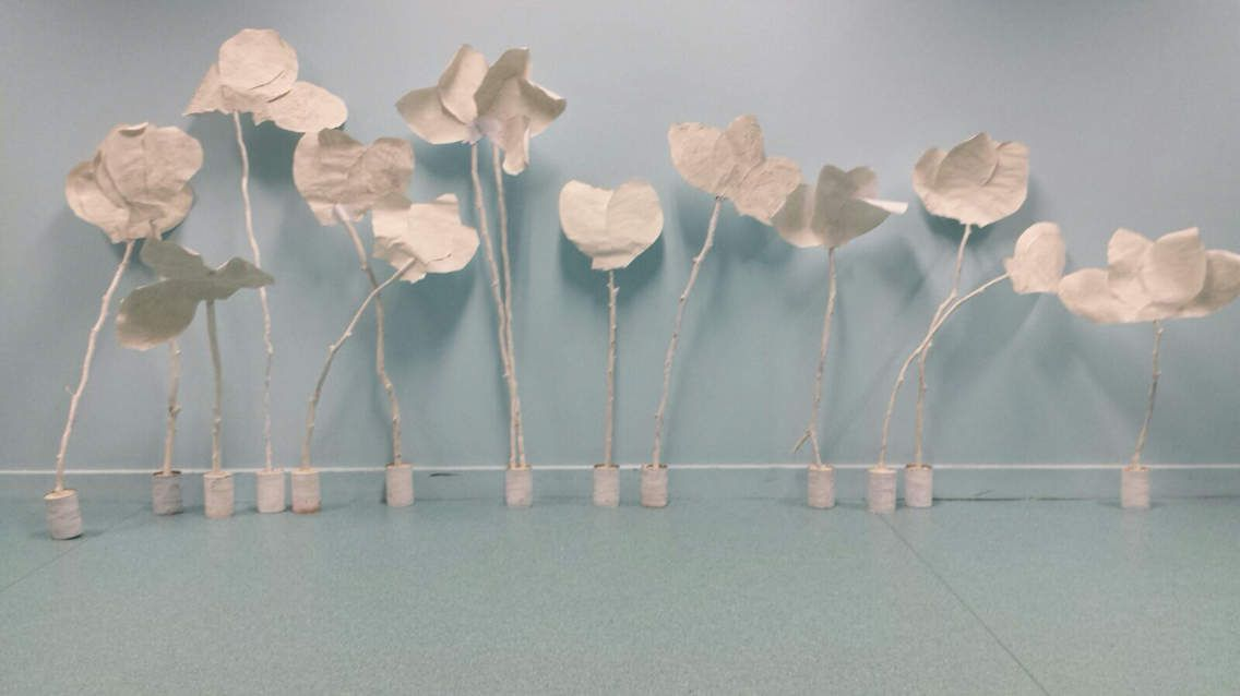 Fleurs Twombly chez Stasia
