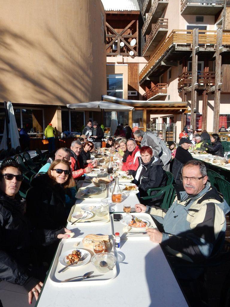 35 amicalistes à Risoul