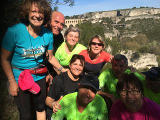 Sortie dominicale à Roquefavour pour les coureurs