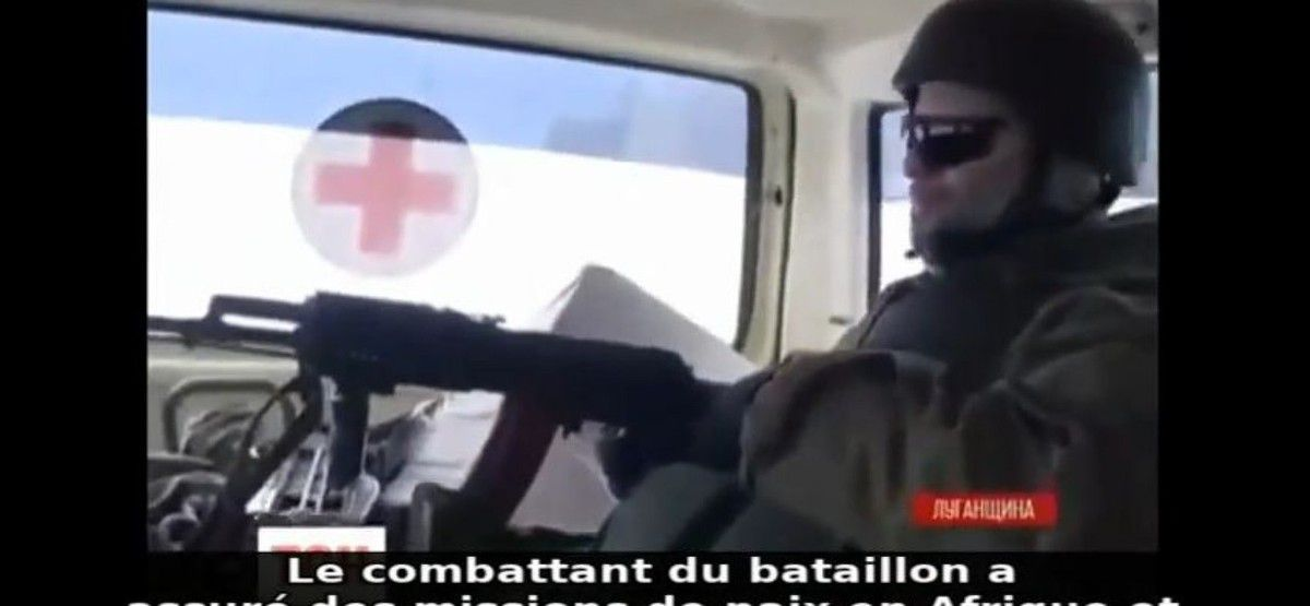 Ukraine – fausses ambulances et crimes de guerre