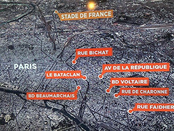BREAKING NEWS LIVE -  Attentats de Paris : au moins 132 morts