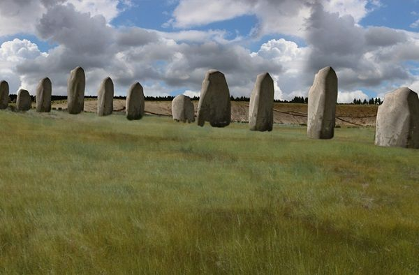 Angleterre: Photos exclusives de l'autre Stonehenge