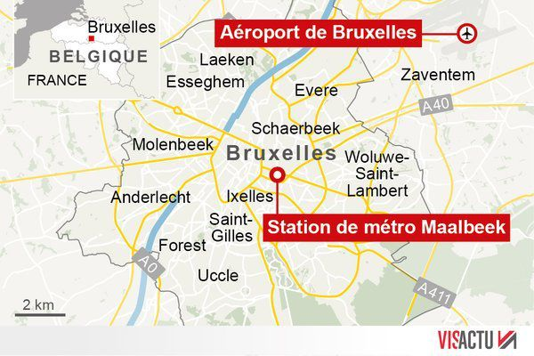 BREAKING NEWS - Attentats de Bruxelles: 34 morts (LIVE)