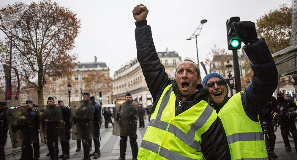 manifestations des gilets jaunes les faits importants en france wikistrike. Black Bedroom Furniture Sets. Home Design Ideas