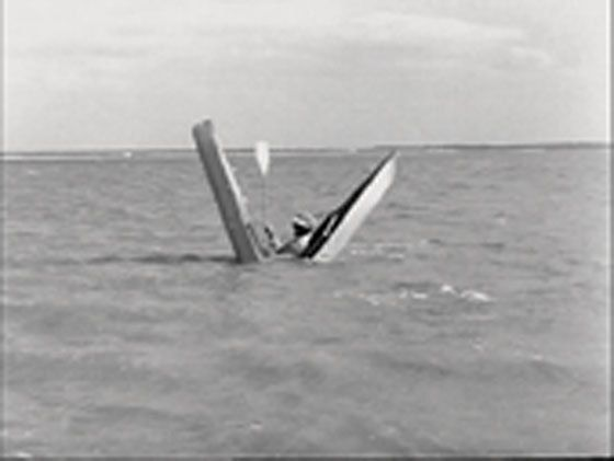 Le début de la fin: ce kayak n'était pas donné