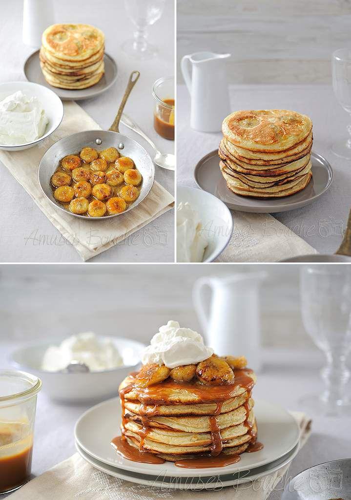 Pancake façon banoffee
