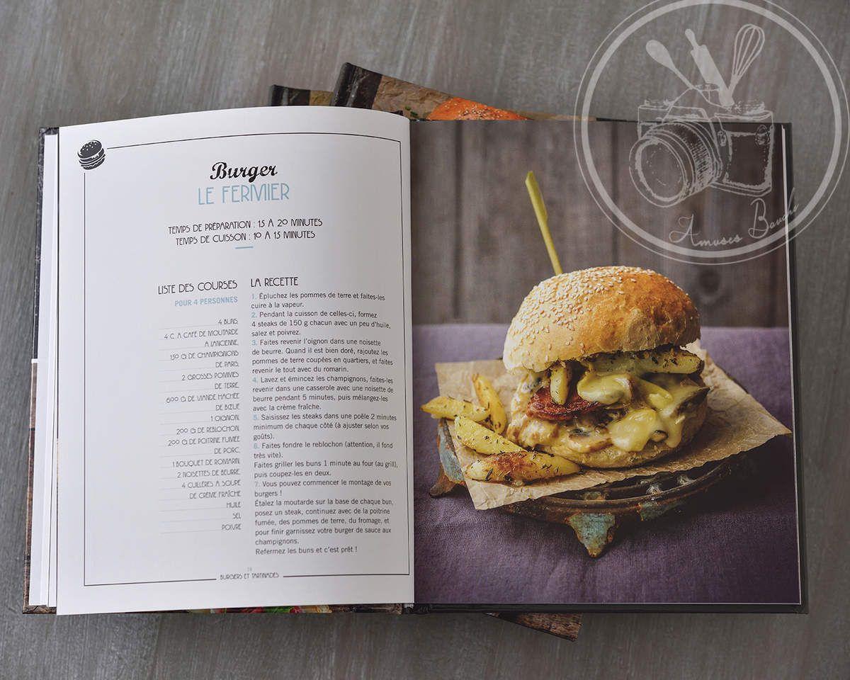 Burgers et tartinades aux éditions i2c exclusivement chez Carrefour 6€