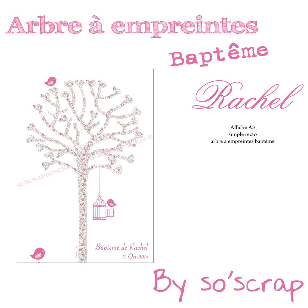 le blog d 39 efdc by so 39 scrap les options de bapt me de la petite rachel. Black Bedroom Furniture Sets. Home Design Ideas