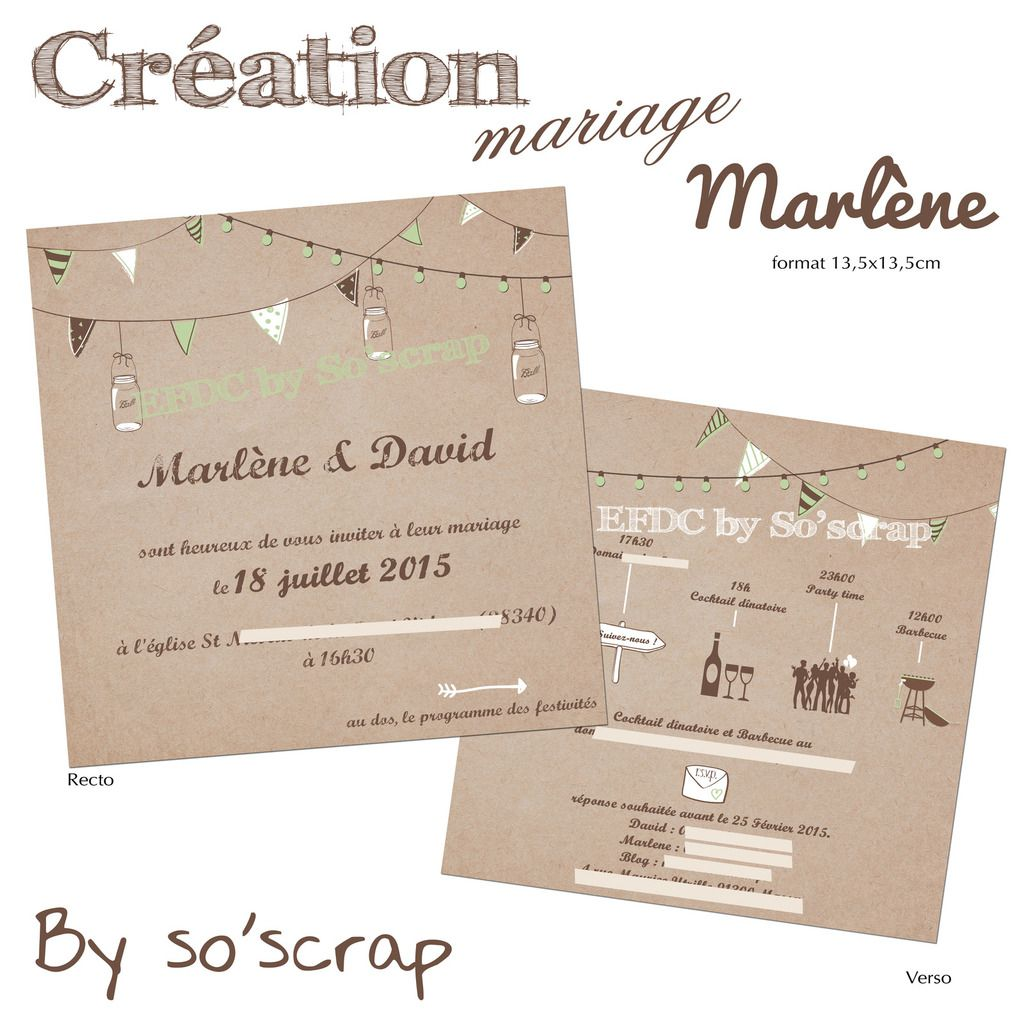 faire part mariage scrapbooking blog. Black Bedroom Furniture Sets. Home Design Ideas