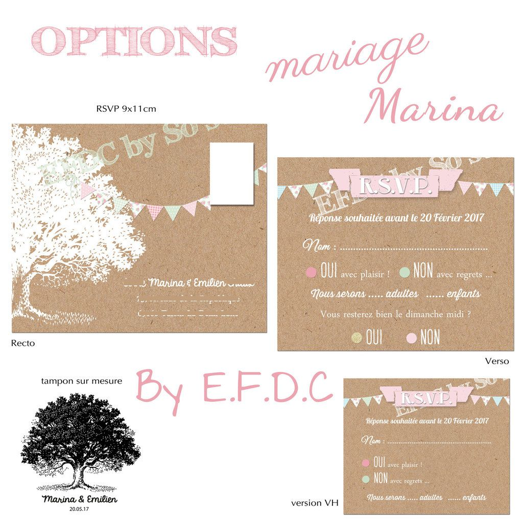 le blog d 39 efdc by so 39 scrap faire part mariage de marina c r monie la que sous un arbre. Black Bedroom Furniture Sets. Home Design Ideas