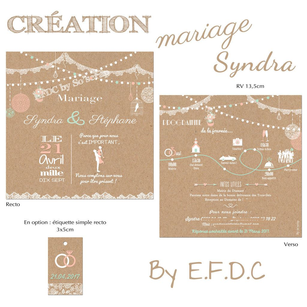 le blog d 39 efdc by so 39 scrap faire part mariage syndra sa. Black Bedroom Furniture Sets. Home Design Ideas