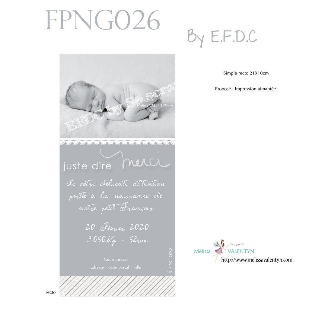 RÉF : FPNG026, faire part naissance garçon, simple recto, photo et texte à personnaliser, 21x10cm, dentelle digitale, camaïeu de gris, création sur mesure et originale, scrap digital