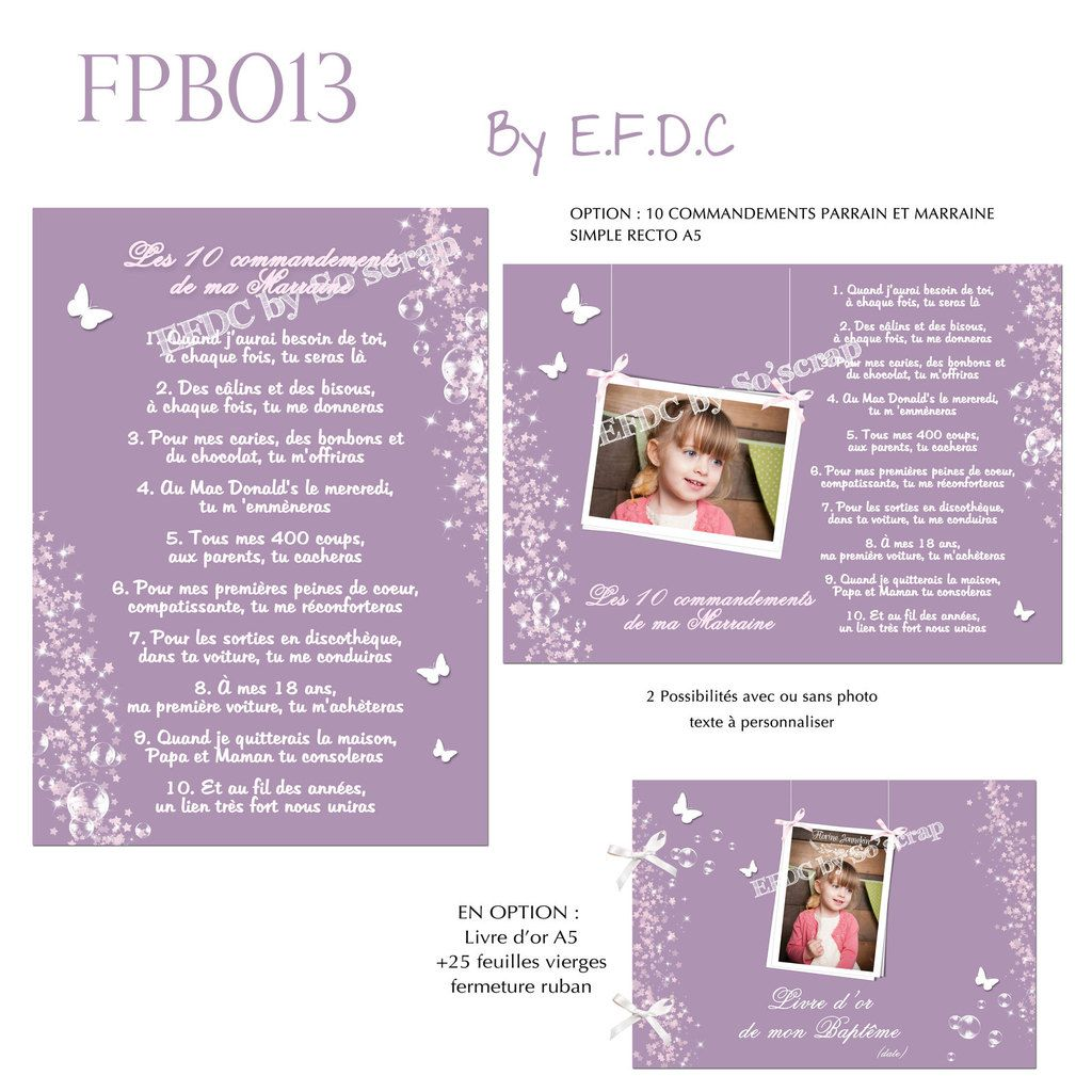 Bien-aimé Le Blog d'EFDC by So'scrap TG84