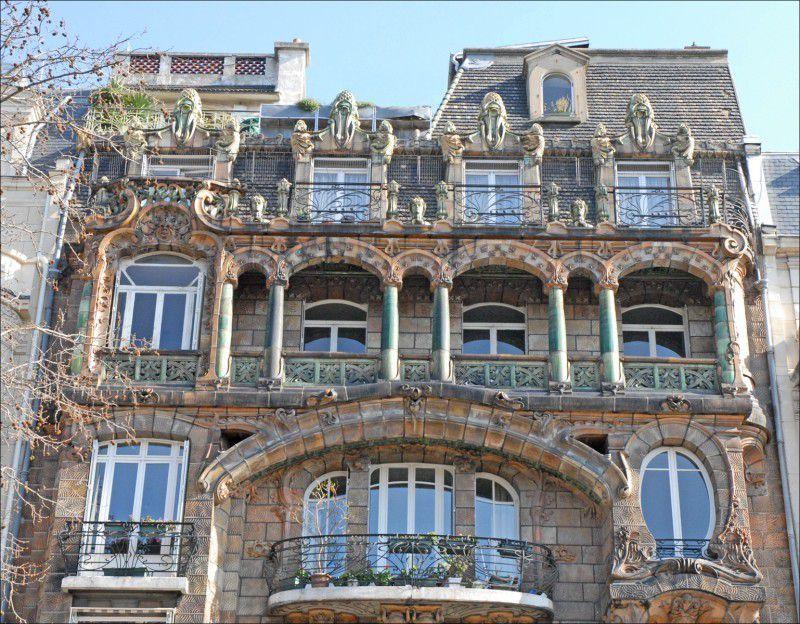 Les immeubles les plus insolites de Paris