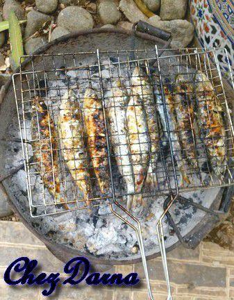 sardine grillé à la marocaine سردين الشواية بالطريقة المغربية