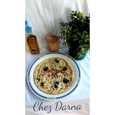 pain libanais au fromage et origan خبز لبناني بالجبن و الزعتر