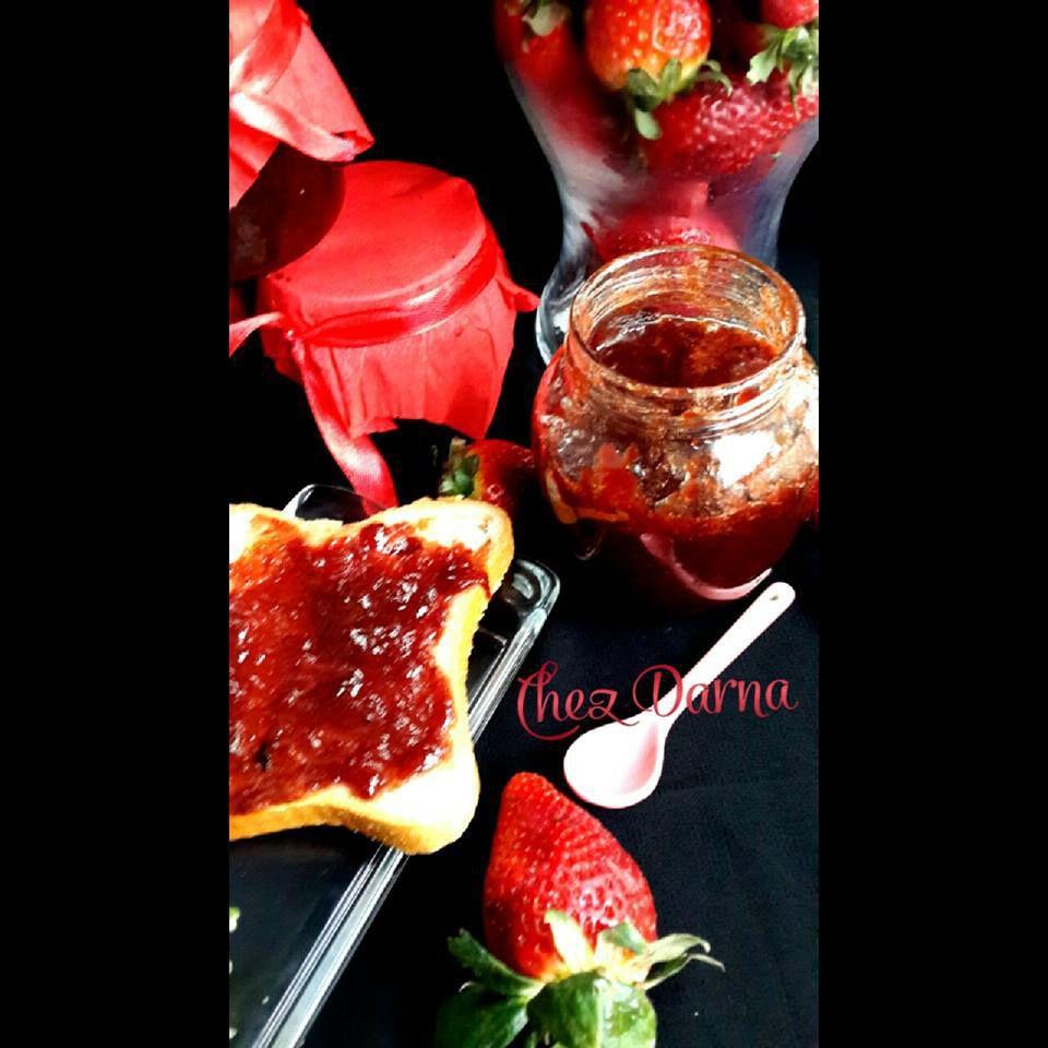 confiture de fraises légère مربى الفراولة (الفريز) لايت