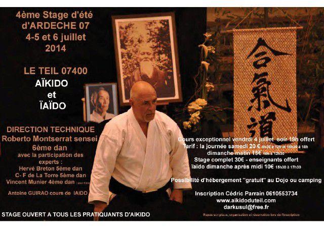 Diaporama Stage Aïkido