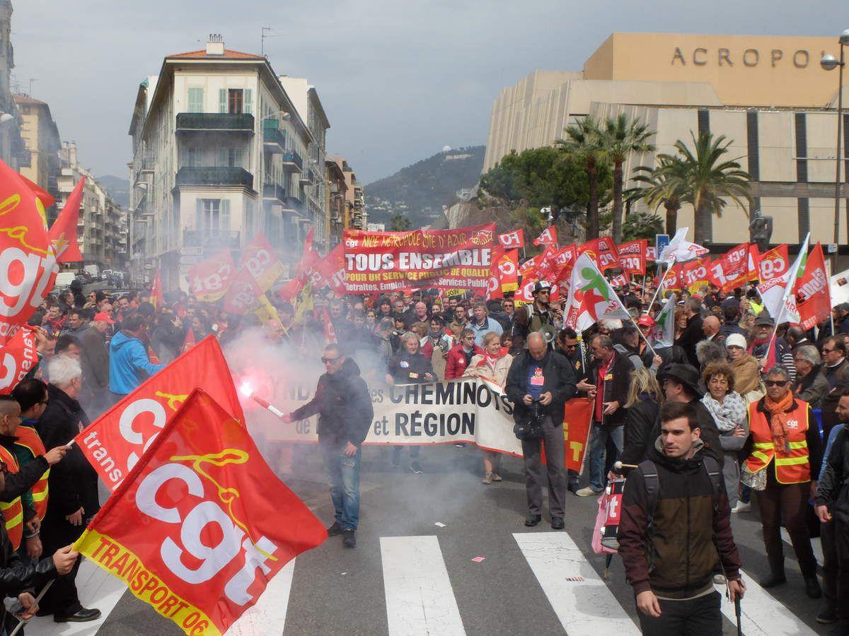 10000 personnes à Nice