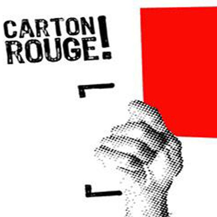 Carton rouge de la semaine