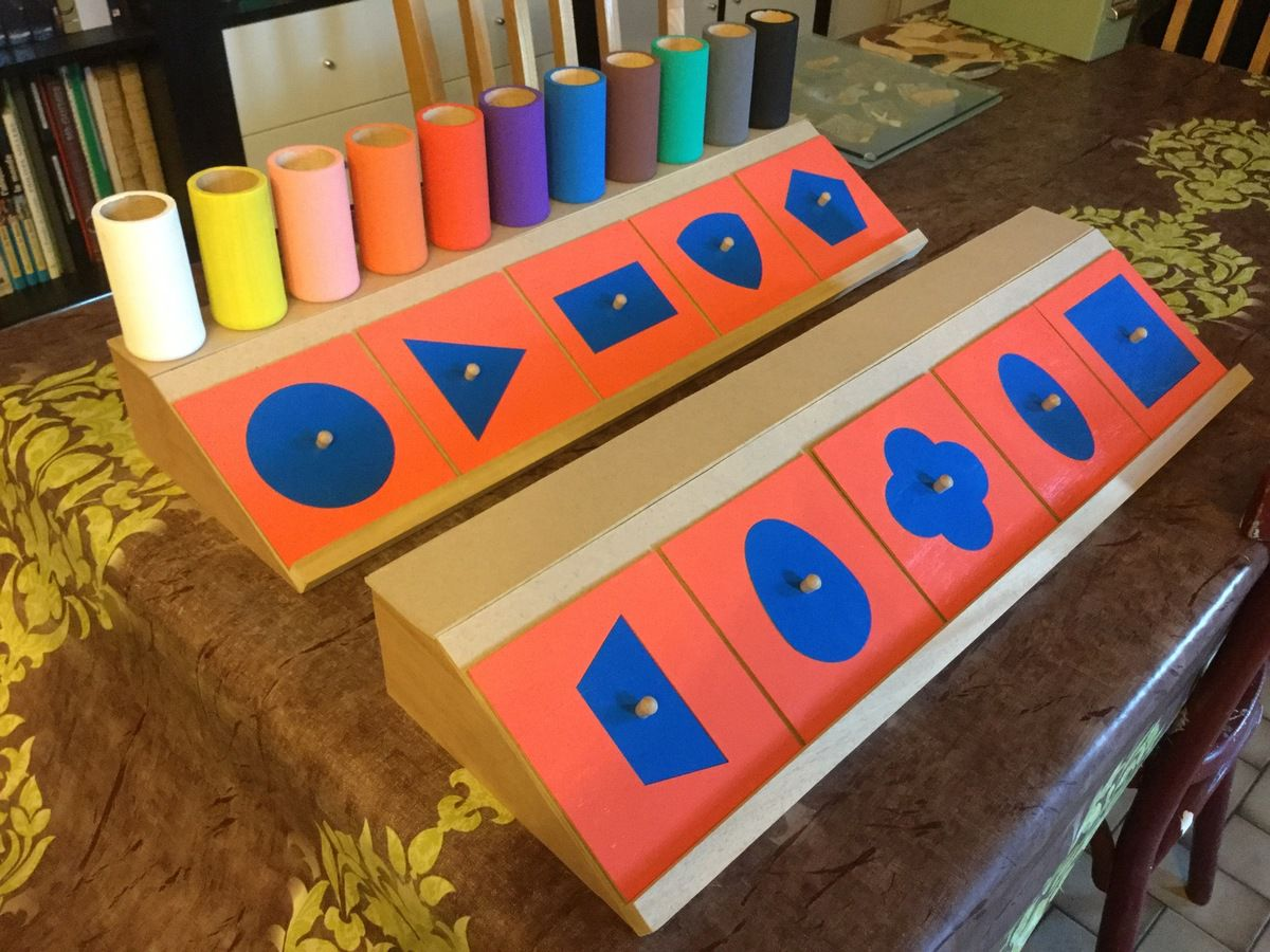 fabrication de socles pour les formes à dessin