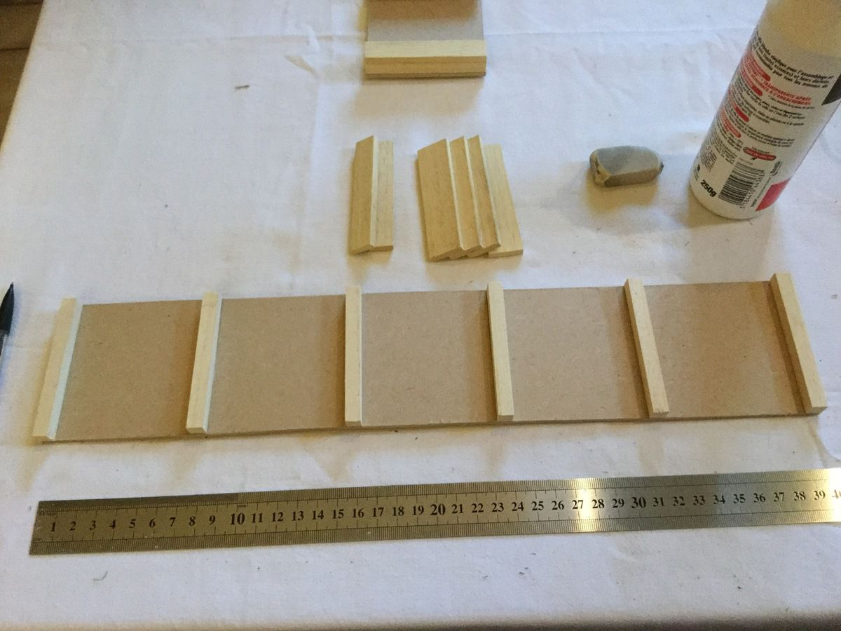 fabrication des tables de Seguin