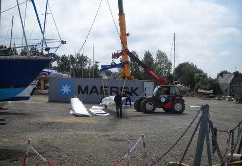 Le port à sec de Concarneau (29) évolue en un véritable pôle nautique