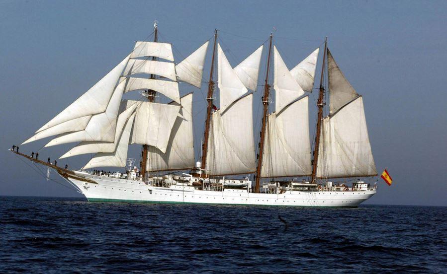 127 kg de cocaïne à bord du voilier école de la Marine Espagnole