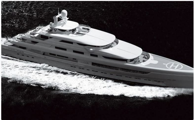 l'Illusion, le plus grand yacht jamais construit en Chine - chantier Pride Yachts