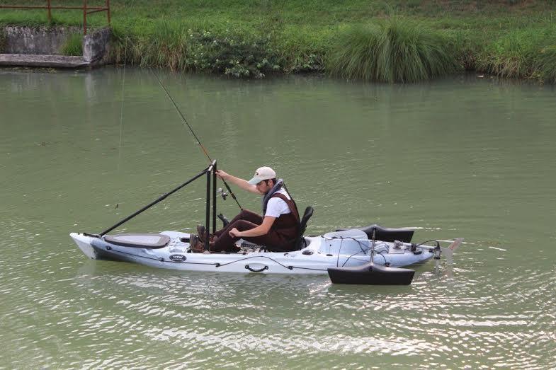Nouveauté 2014-2015 - les Kayaks de pêche RTM Fishing passent au moteur électrique