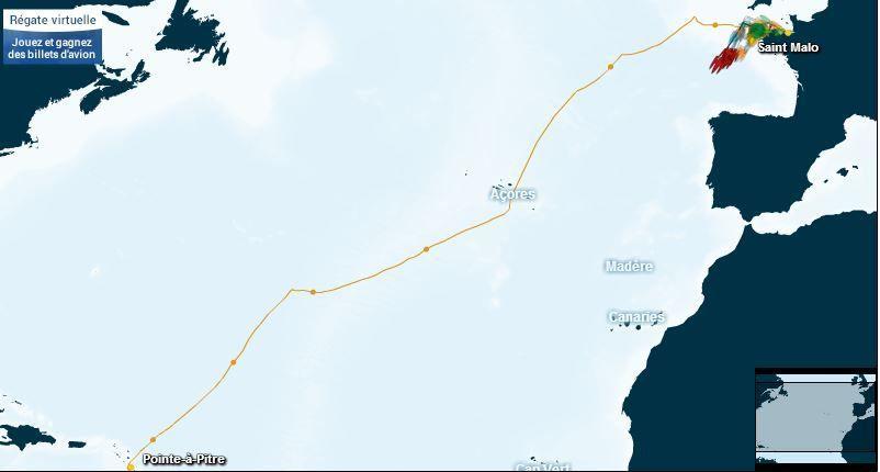 Suivre la Route du Rhum en direct sur ActuNautique.com