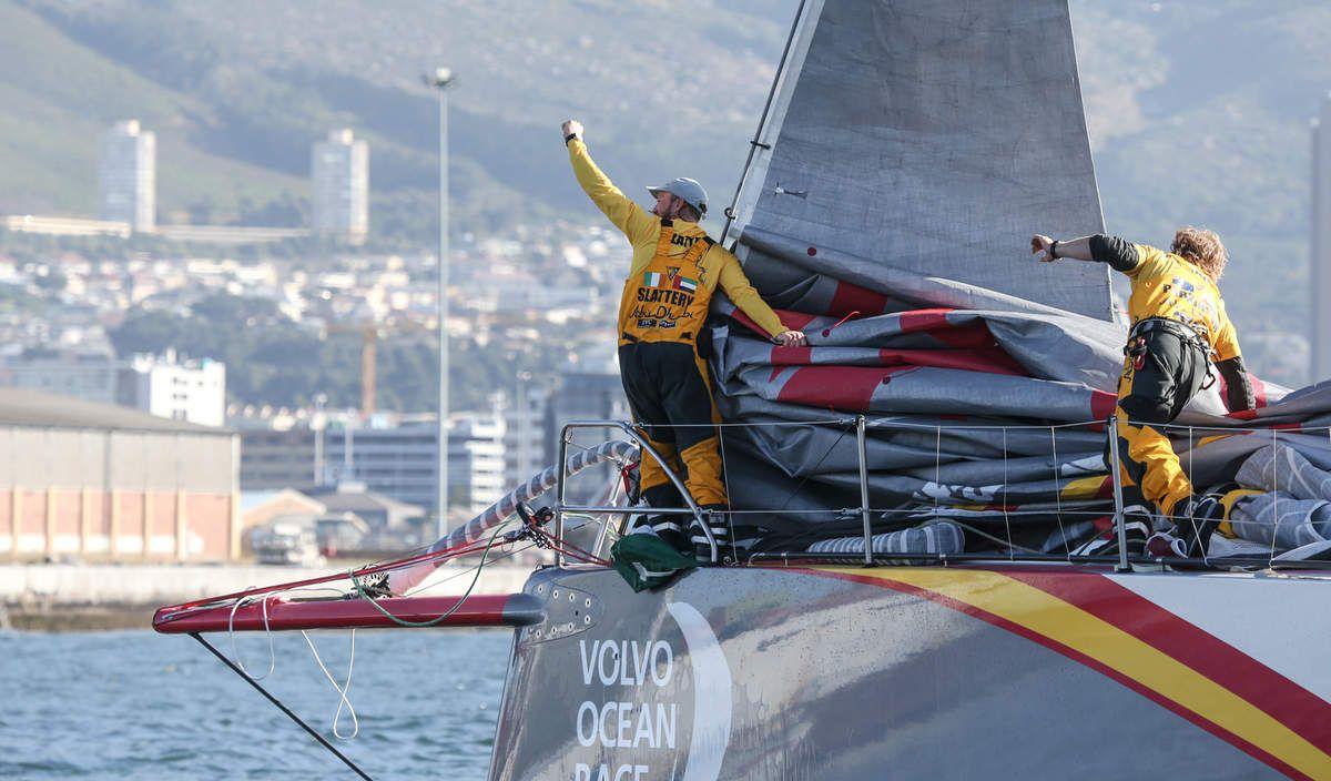 Volvo Ocean Race - 12 minutes d'avance au Cap pour Abu Dhabi