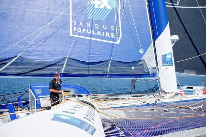 Route du Rhum - derniers 1000 milles nautiques pour Peyron