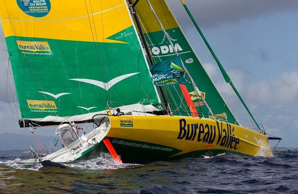 route du rhum louis burton 5 me des imoca objectif atteint. Black Bedroom Furniture Sets. Home Design Ideas