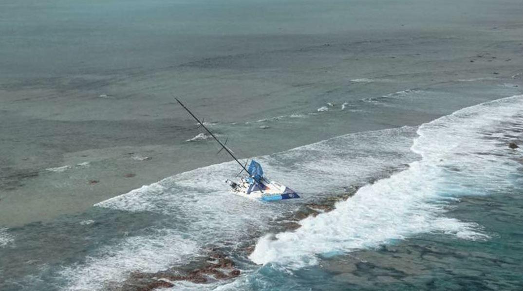 Volvo Ocean Race - 1er témoignage de Chris Nicholson après l'échouement de Team Vestas