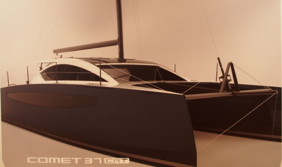 SCOOP Nautic 2014 - le chantier Comar Yachts va lancer son premier catamaran