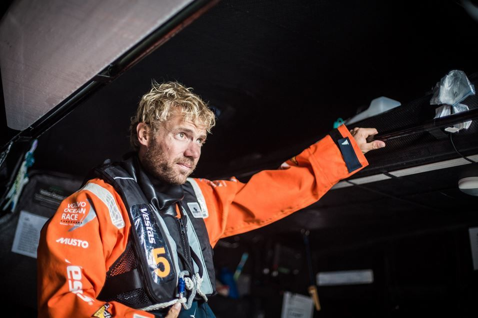 Brian Carlin / Team Vestas Wind / Volvo Ocean Race