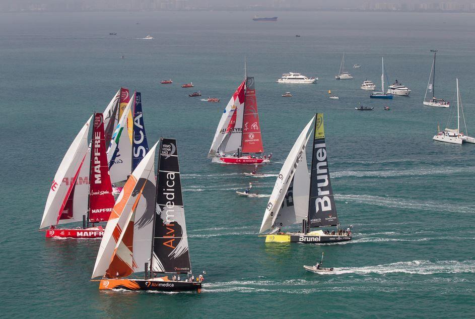 Volvo Ocean Race - c'est parti pour la 4e étape vers Auckland