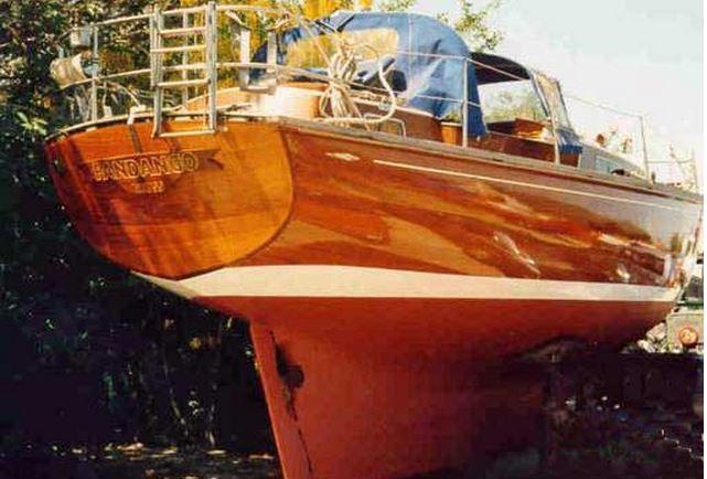 Le Rasmus 35, premier voilier construit par Christoph Rassy