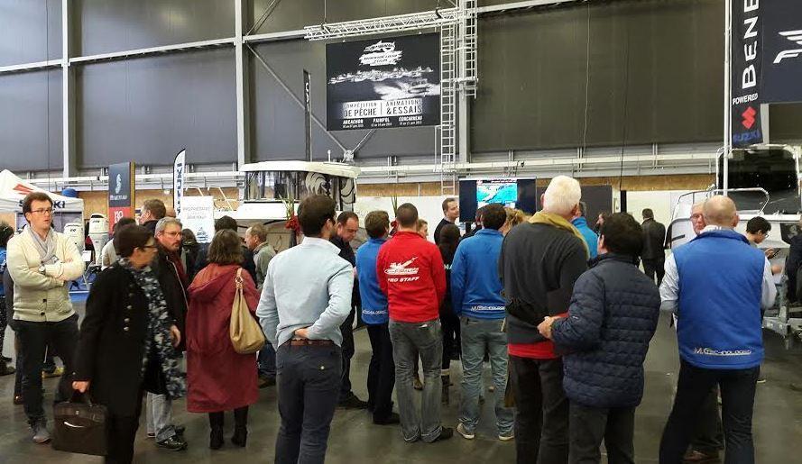 Salon europ en des p ches 3 tapes pour le barracuda - Salon des peches en mer ...
