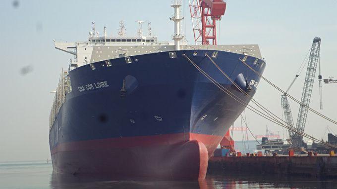 Entrée en flotte de deux nouveaux porte-conteneurs chez CMA CGM