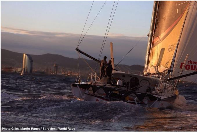 Cheminées Poujoulat remporte la Barcelona World Race 2014-2015