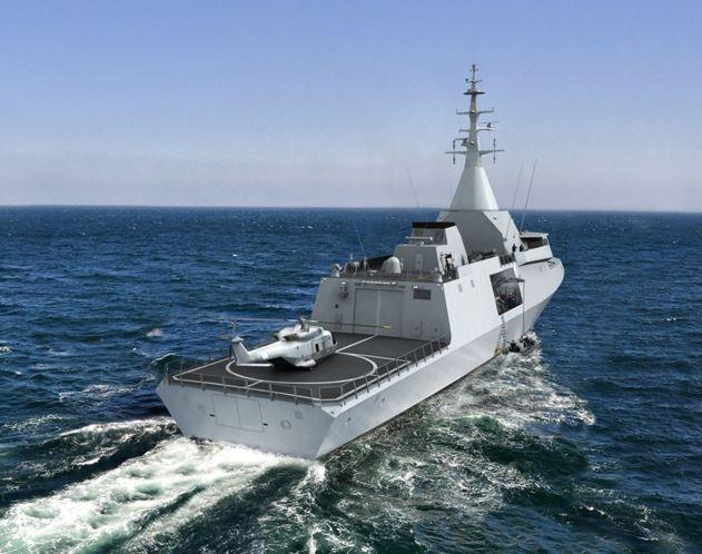 Lancement de la construction de la première corvette Gowind 2500 égyptienne chez DCNS