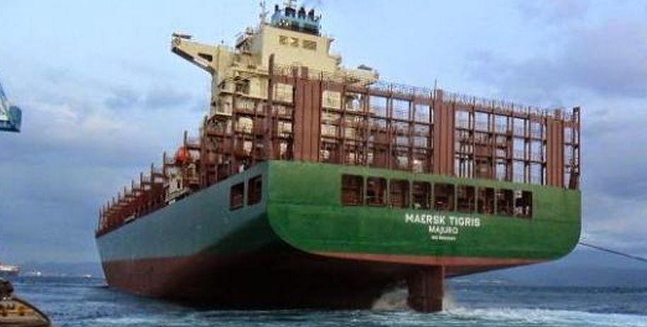 Golfe persique - arraisonnement d'un porte-conteneurs de la Maersk par le régime iranien