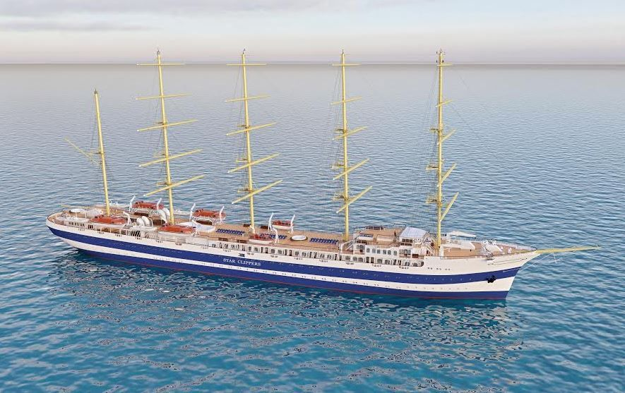 Star Clippers lance la construction du plus grand voilier à voiles carrées du monde