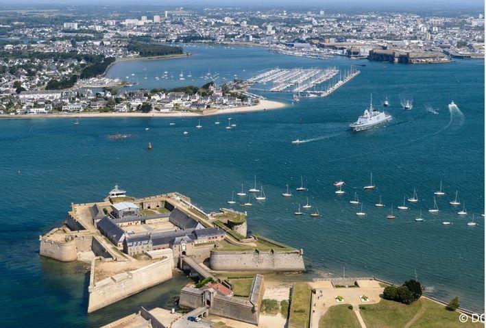 La Marine Nationale réceptionne la frégate Fremm Provence