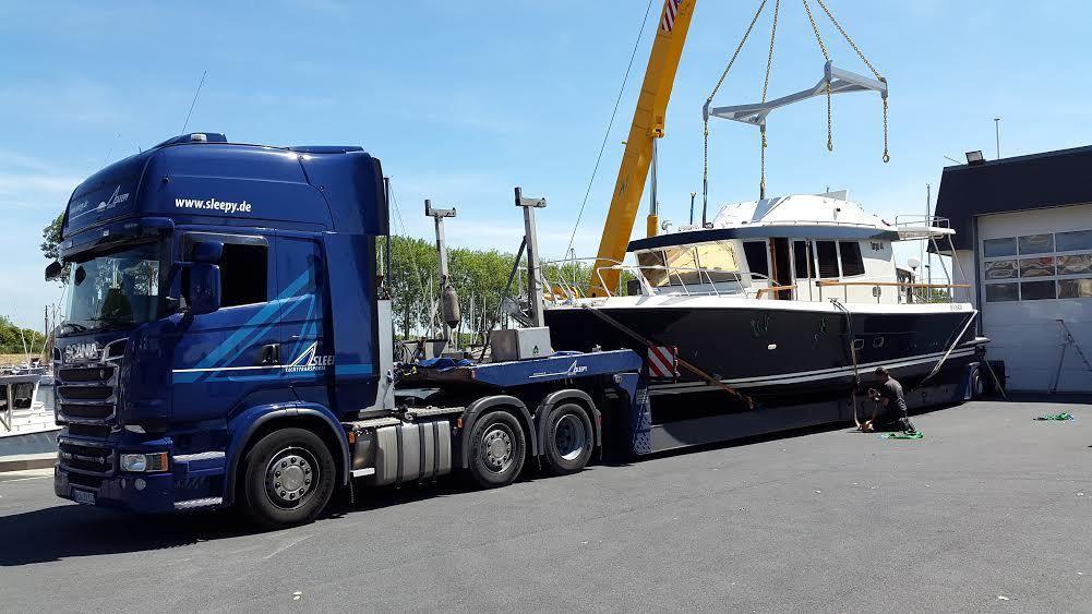 Snip Yachting livre le tout premier Targa 44 Aft Door français