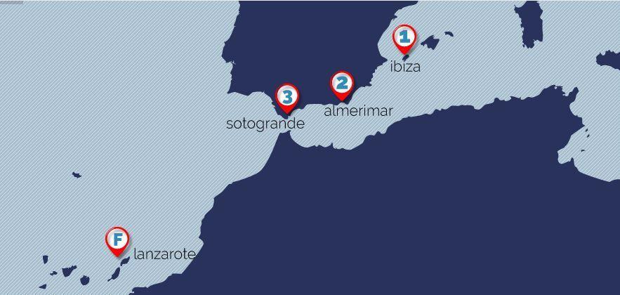 L'Atlantic Gate Rally, une nouvelle course à la voile pour tous, entre  Ibiza et Lanzarote